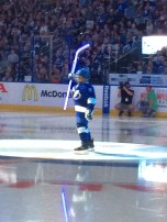 Matthew during the Thunder Skate. He hit the whip every time he did it.
