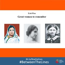 This 2013 textbook from #Bangladesh challenges gender norms in the country in this #textbook, showing #women as scientists, and peace laureates. What gender norms does your textbook teach you? We want to know! Share it and tag us using: #BetweenTheLines and download the @GEMReport policy paper on textbooks: Bit.ly/Btwthelines