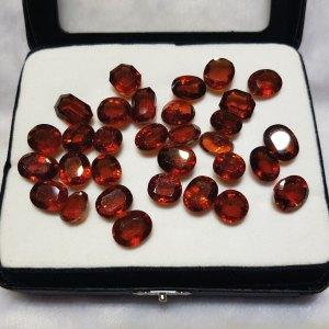 Natural Hessonite Garnet - গোমেদ - Gems Jewellers & Gems Stone