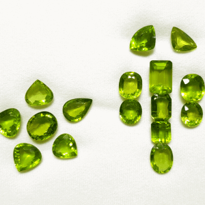 Very Gorgeous and High Quality Different Size and Shape Burmese Natural Peridot Stone - বার্মিজ পেরিডট পাথর