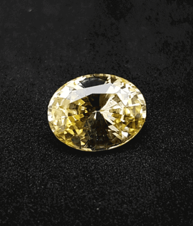 An Original Natural Sri Lankan/ Ceylon/ Siloni Yellow Sapphire (Pokhraj) Stone Price In Bangladesh - অরিজিনাল শ্রীলংকান/ সিলোনি পোখরাজ পাথরের দাম