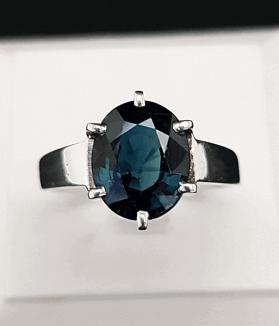 An Original Natural Best Quality Australian Deep Blue Sapphire Stone Price In Bangladesh - অস্ট্রেলিয়ান ইন্দ্রনীলা (IndraNila Pathor) পাথরের দাম