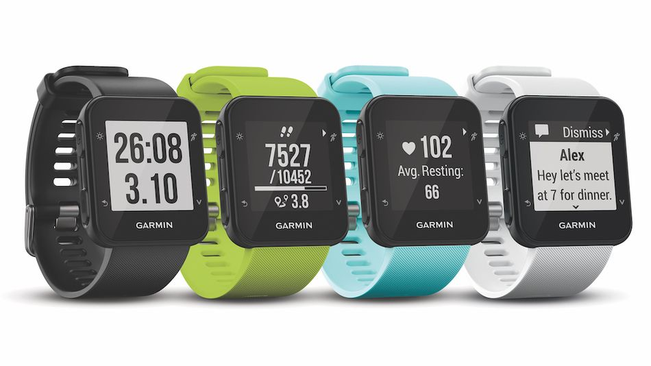 the-garmin-forerunner-35-is-a-basic-gps-watch-for-the-running-purist