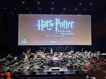 The CineConcert Series of Harry Potter at Dubai Opera