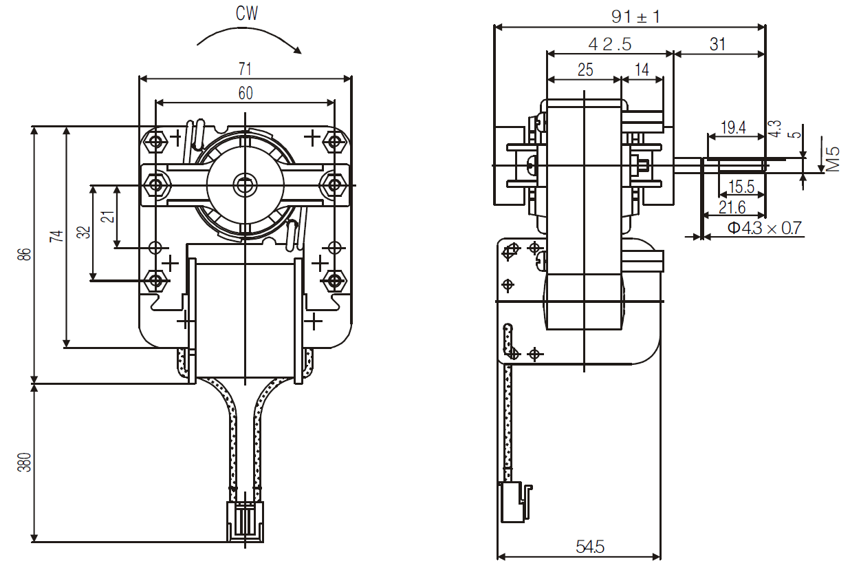 Affordable C Frame Shaded Pole Motor Solutions