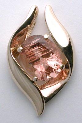 oregon sunstone designer pendant