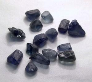 faceting rough sapphire