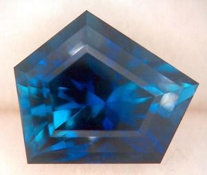 untreated sapphire custom faceting