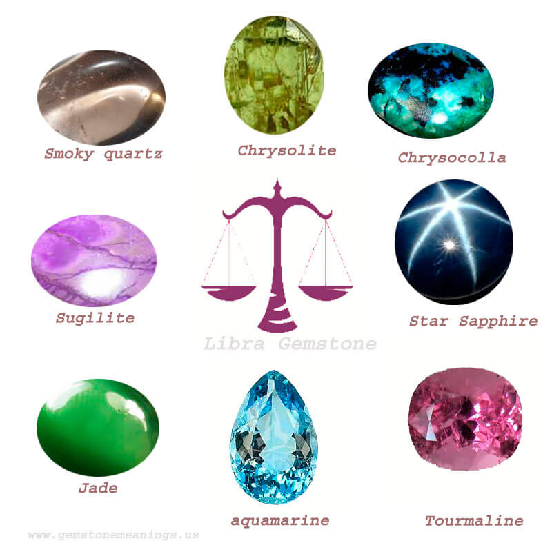 gemstone for libra list and their meanings gemstone meanings