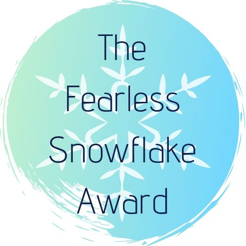 Logo of The Fearless Snowflake Award