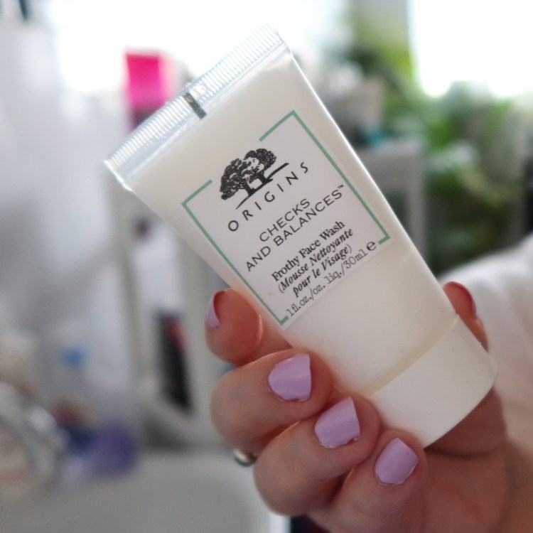 Origins Balances Frothy Face Wash