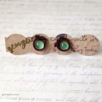 Apple of my Eye Earrings @ $10.90 (SOLD)