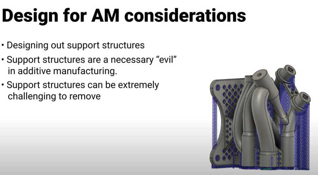 Design for AM considerations