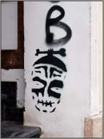 Stencil-Scheiße