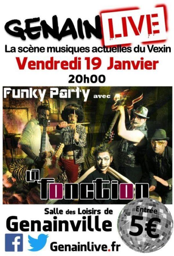 Genainlive - Concert Funk Vexin