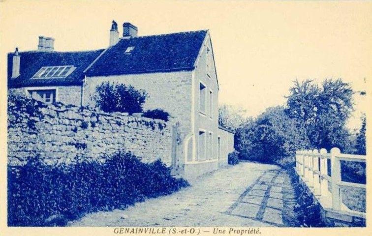 maison du village genainville