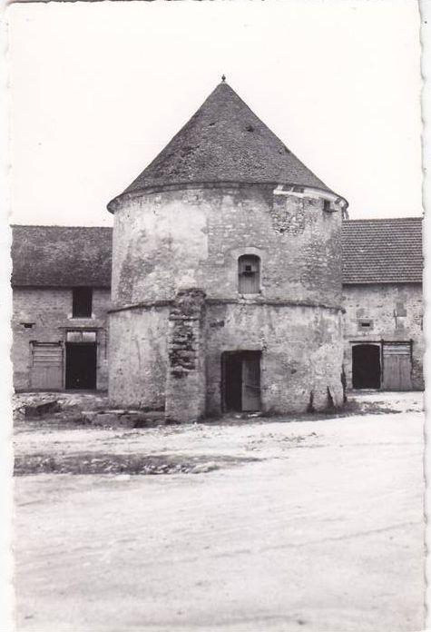cartes postales anciennes ferme du village