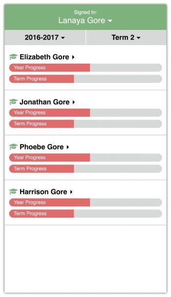 Flexible School Schedule homeschool app child progress