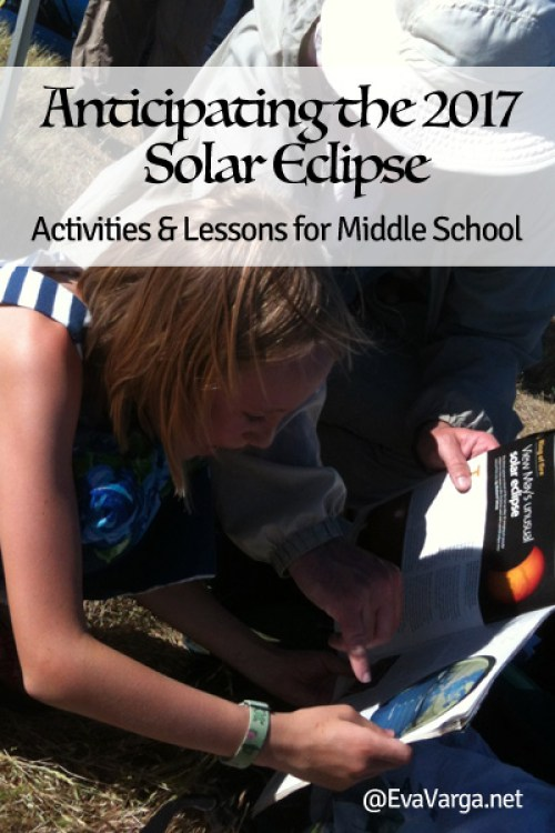 Anticipating the 2017 Solar Eclipse: Activities & Lessons for Middle School