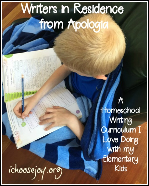 Writers in Residence™ All -In-One Student Text and Workbook and Answer Key, A Homeschool Writing Curriculum I Love Doing with my Elementary Kids