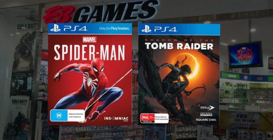 Spider-man или Shadow of the Tomb Raider: какую стоит купить?