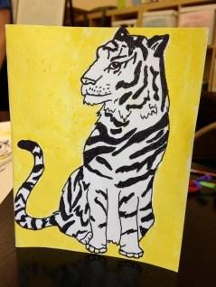 Maya's Tiger Card