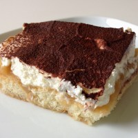 sommerliches Apfelmus-Tiramisu