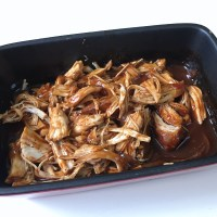 Pulled Chicken aus dem Backofen