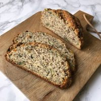 Knuspriges Low Carb Brot | glutenfrei