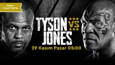 Photo of MIKE TYSON – ROY JONES JR. MAÇI S SPORT PLUS'TA!