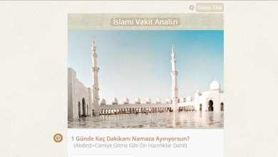 Photo of Sorularla İslami Vakit Analizi Testi