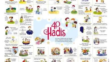 Photo of Çocuklar İçin 40 Hadis [Poster]