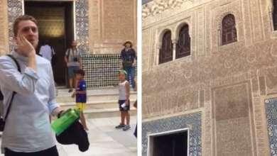 Photo of El Hamra Sarayında 5 Asır Sonra İlk Kez Ezan Okundu
