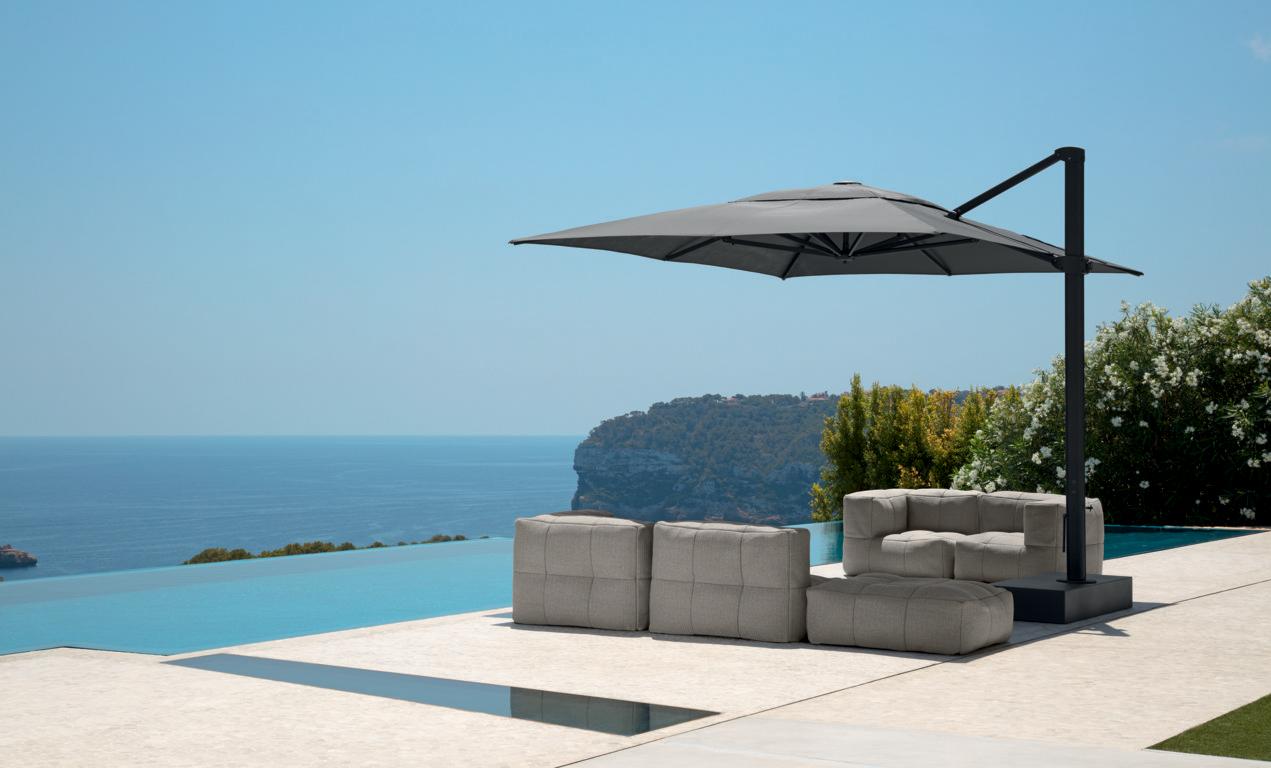 Gli ombrelloni da giardino sono semplici dispositivi che ti permettono di avere una zona all'ombra nonostante il sole splendente. Ombrelloni Genco Outdoor