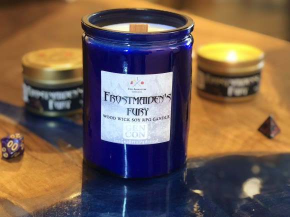Frostmaiden's Fury Candles
