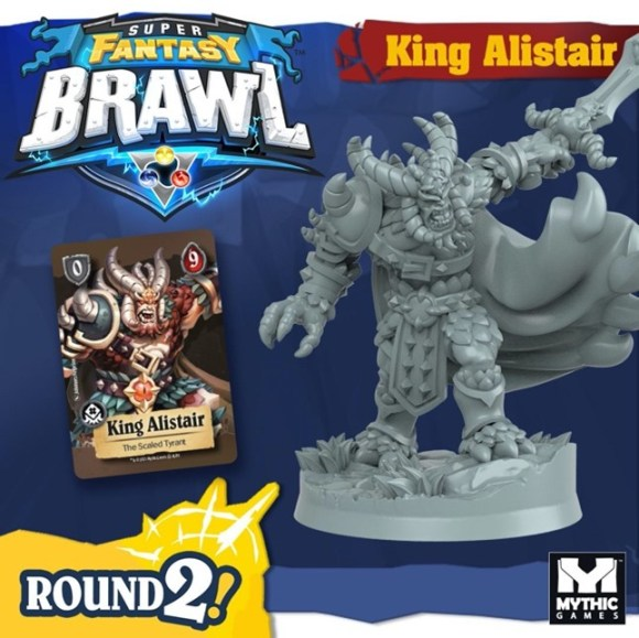 King Alistair, a new Champion for Super Fantasy Brawl