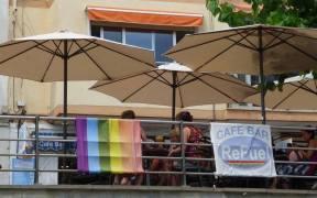 Открито гей кафене в Бенидорм