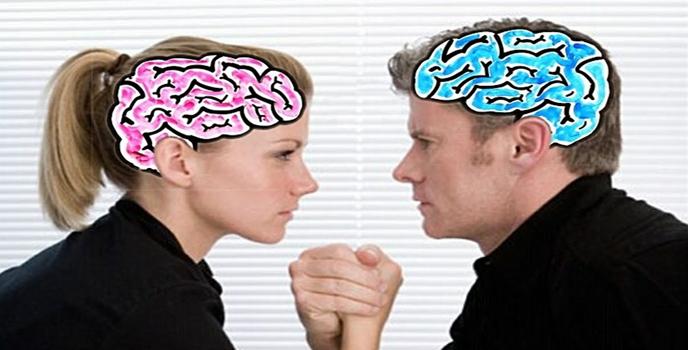 المرأة والرجل ليسا فَرَسَيْ رهان