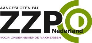 logo aangesloten ZZP Nederland niet transparent