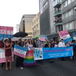Trans and Intersex @ Auckland Pride March