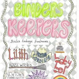 Binders Keepers! Fundraising Gig