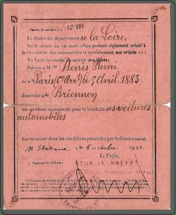 Permis_France_1922_e