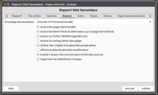 Rapport Web Dynamique - Pages internet - Gramps_224