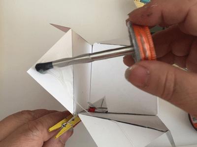 Photo of Gluing Flaps