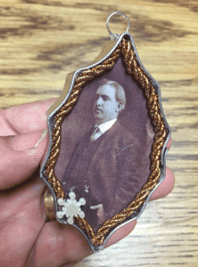 Photo of Cookie Cutter Christmas ornament featuring Paul Benton Hoyt