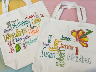 Photo of the perfect tote for Genealogy Research !