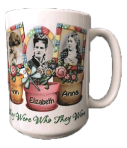 Mothers Day Coffee Cup to show off Genealogy Crafts