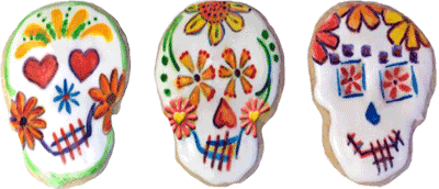 Photos of Sugar Skull Cookies