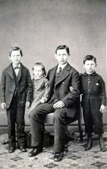 Jacob, Mary, George and Peter Haupers