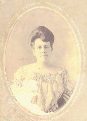 Francisca (Luján) Le Breton (1876-1966), daughter of José Mauro Luján